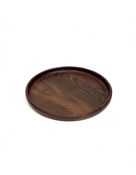 TRAY PURE WOOD ROUND D29 H2,5