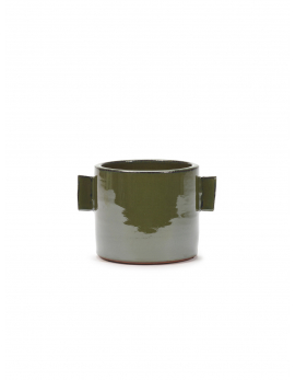FLOWER POT M GREEN