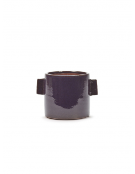FLOWER POT M AUBERGINE