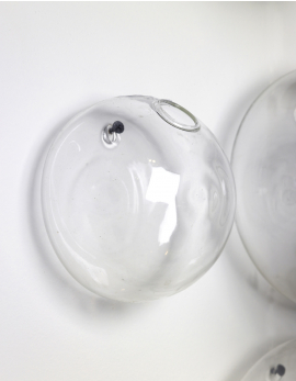 GLASS WALL VASE S