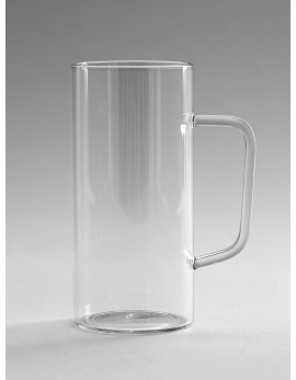 GLASS MUG LARGE D6 H12,5