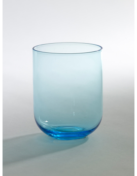 GLASS BLUE