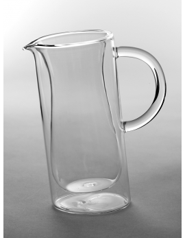 PITCHER DUBBLE WALL SMALL D10,5 H18 70cl