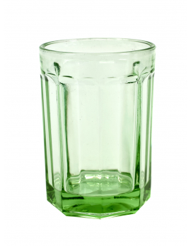 GLASS LARGE D8,5 H12 40cl TRANSPARENT GREEN