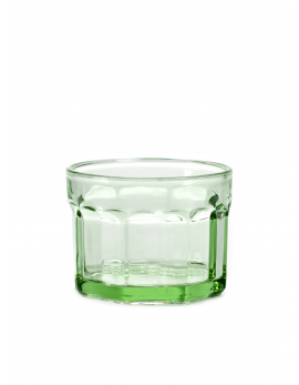 GLASS S GREEN FISH&FISH