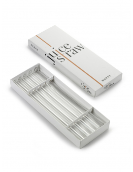 JUICE STRAW D0,9 H23 SET/4 WITH BRUSH