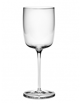 RED WINE GLASS STRAIGHT PASSE PARTOUT