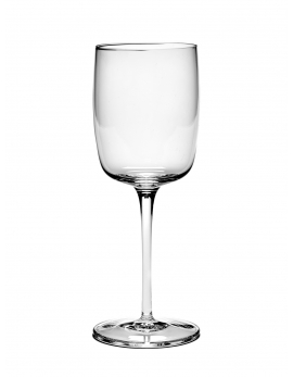 WHITE WINE GLASS  STRAIGHT VVD H21cm D7,8cm 30CL