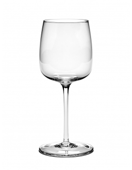 WHITE WINE GLASS CURVED VVD H21cm D8,8cm 40CL