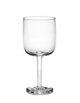 RED WINE GLASS STRAIGHT BASE