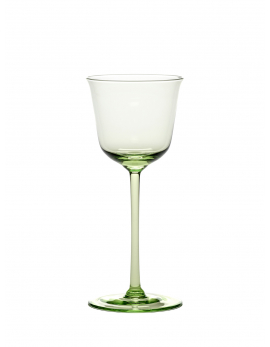 WHITE WINE GLASS GRACE GREEN