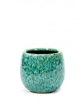 POT SEAGRASS GREEN D13 H11,5 CM
