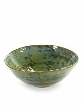 SALADBOWL MEDIUM D28,5 H10,5 SEA GREEN