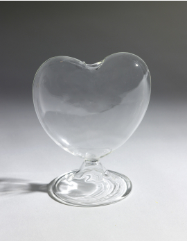 HEART ON FOOT SMALL 12CM