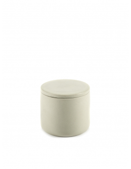 BOX WITH LID ROUND S BEIGE COSE