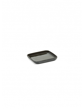 TRAY SQUARE DARK GREY COSE