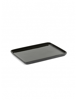 TRAY RECTANGULAR M DARK GREY COSE