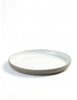 ROUND PLATE LARGE D26,8 H3 DUSK