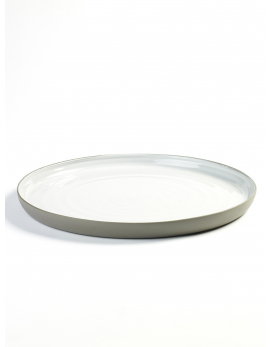 SERVING PLATE ROUND D31 H3 DUSK