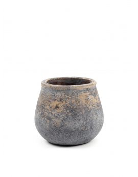 FLOWER POT S GREY