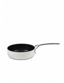 PURE FRYING PAN NON-STICK FORGED ALU SERENE WHITE D24 CM - 3