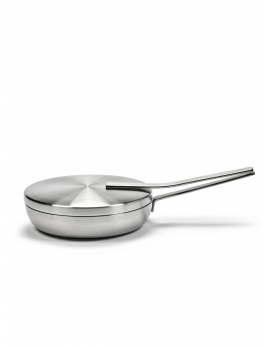 SAUTÉ PAN INCL LID ALU BASE