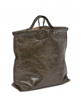 SHOPPER BAG OLIVE BAGS BY BEA MOMBAERS
