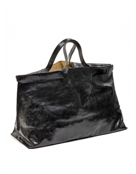 SHOPPER XL BLACK BAGS BY BEA MOMBAERS