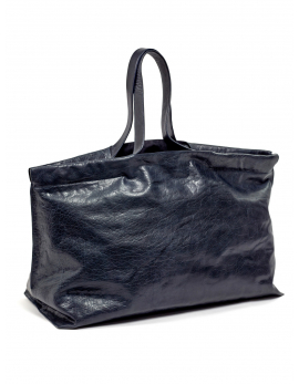 SHOPPER XL BLAU BAGS BY BEA MOMBAERS