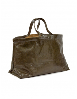 SHOPPER XL OLIJFGROEN BAGS BY BEA MOMBAERS