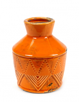 FLOWER POT ORANGE UMBRA