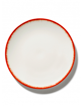 ASSIETTE DÉ  OFF-WHITE/RED VAR 2