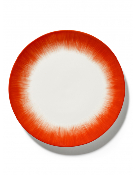ASSIETTE DÉ  OFF-WHITE/RED VAR 5