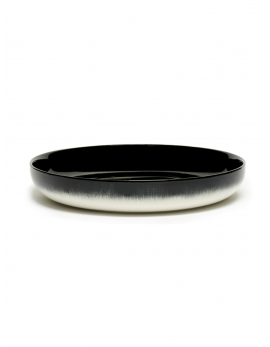ASSIETTE HAUTE DÉ  OFF-WHITE/BLACK VAR B