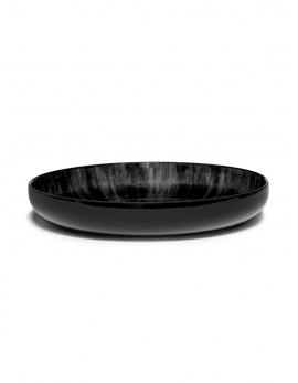 ASSIETTE HAUTE DÉ  OFF-WHITE/BLACK VAR C