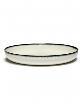 ASSIETTE HAUTE DÉ  OFF-WHITE/BLACK VAR A