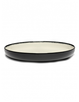 ASSIETTE HAUTE DÉ  OFF-WHITE/BLACK VAR D