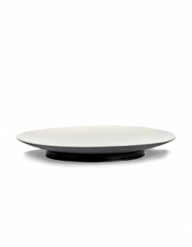 ASSIETTE RA  BLACK/OFF-WHITE