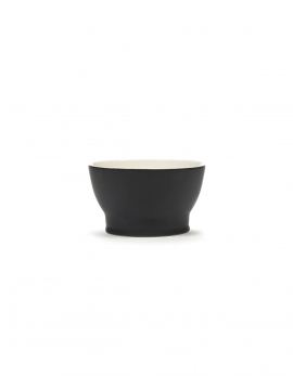 CUP W/O HANDLE RA BLACK/OFF-WHITE