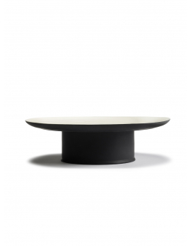 CAKE STAND RA BLACK/OFF-WHITE
