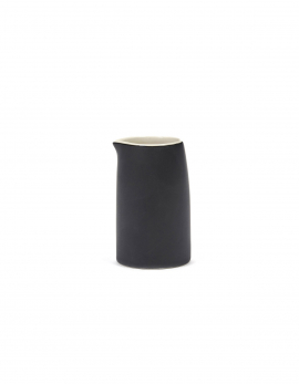 MILK/CREAM JUG RA BLACK/OFF-WHITE