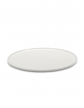 LOW PLATE L IVORY CENA
