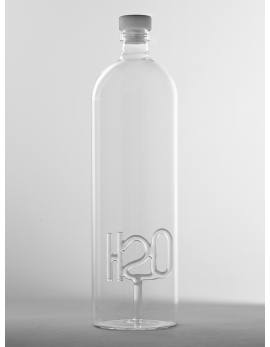 H2O BOTTLE WITH STOPPER
