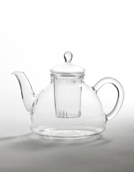 TEAPOT GLASS ONE PERSON H11 DIA16