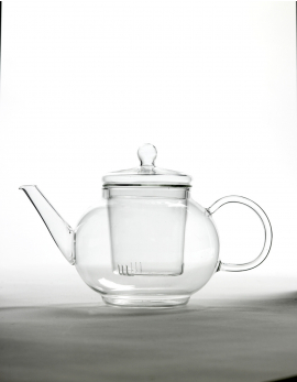 TEAPOT GLASS 4 PERSONS DIA23 H15