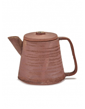 TEA POT RED BROWN HONESTA