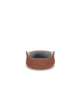 BOWL N°1 S RED BROWN HONESTA