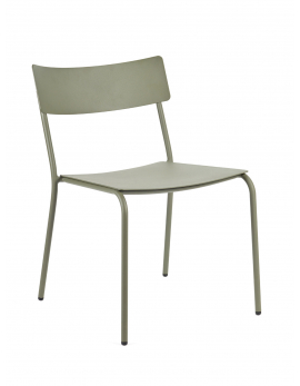 CHAIR WITHOUT ARMRESTS EUCALYPTUS GREEN AUGUST