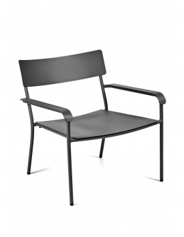 LOUNGE CHAIR BLACK AUGUST