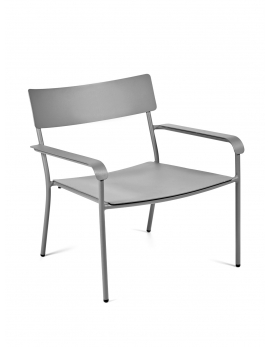 LOUNGE CHAIR GREY AUGUST